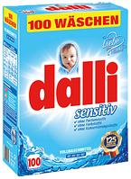 Dalli Sensitive порошок для стирки детских вещей 6,5кг