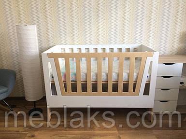 Детская кроватка-трансформер Beloved Bed 3 в 1 Maloy Веселиил