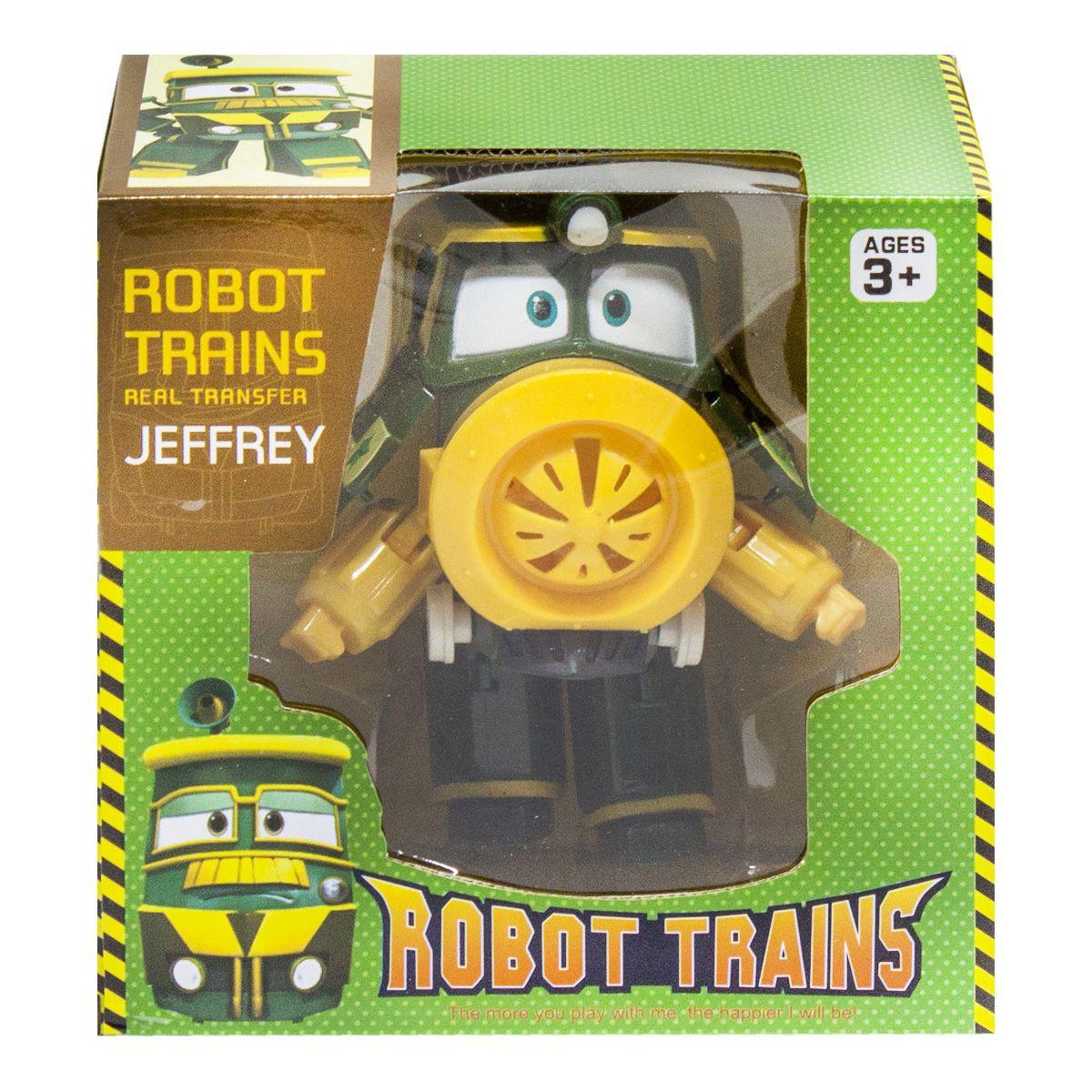 """Игрушка Роботы Поезда """"Robot Trains: Jeffrey (Джефри)"""""""