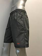 Мужские спортивные шорты полубатал Nike из плащевки копия
