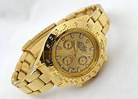 Женские часы Rolex Daytona цвет циферблата золотистый