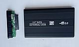 """USB 2.0 внешний металлический карман кейс флешка для 2.5"""" SATA HDD SSD, фото 2"""