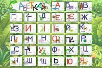 Фотообои алфавит разные текстуры , индивидуальный размер