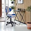 Комплект растущая парта для дома FunDesk Lavoro L Grey+детское кресло FunDesk LST3 Blue-Grey, фото 6