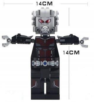 Фігурка Великої Людини мурашки Месники Супергерой Марвел Аналог лего 14 см
