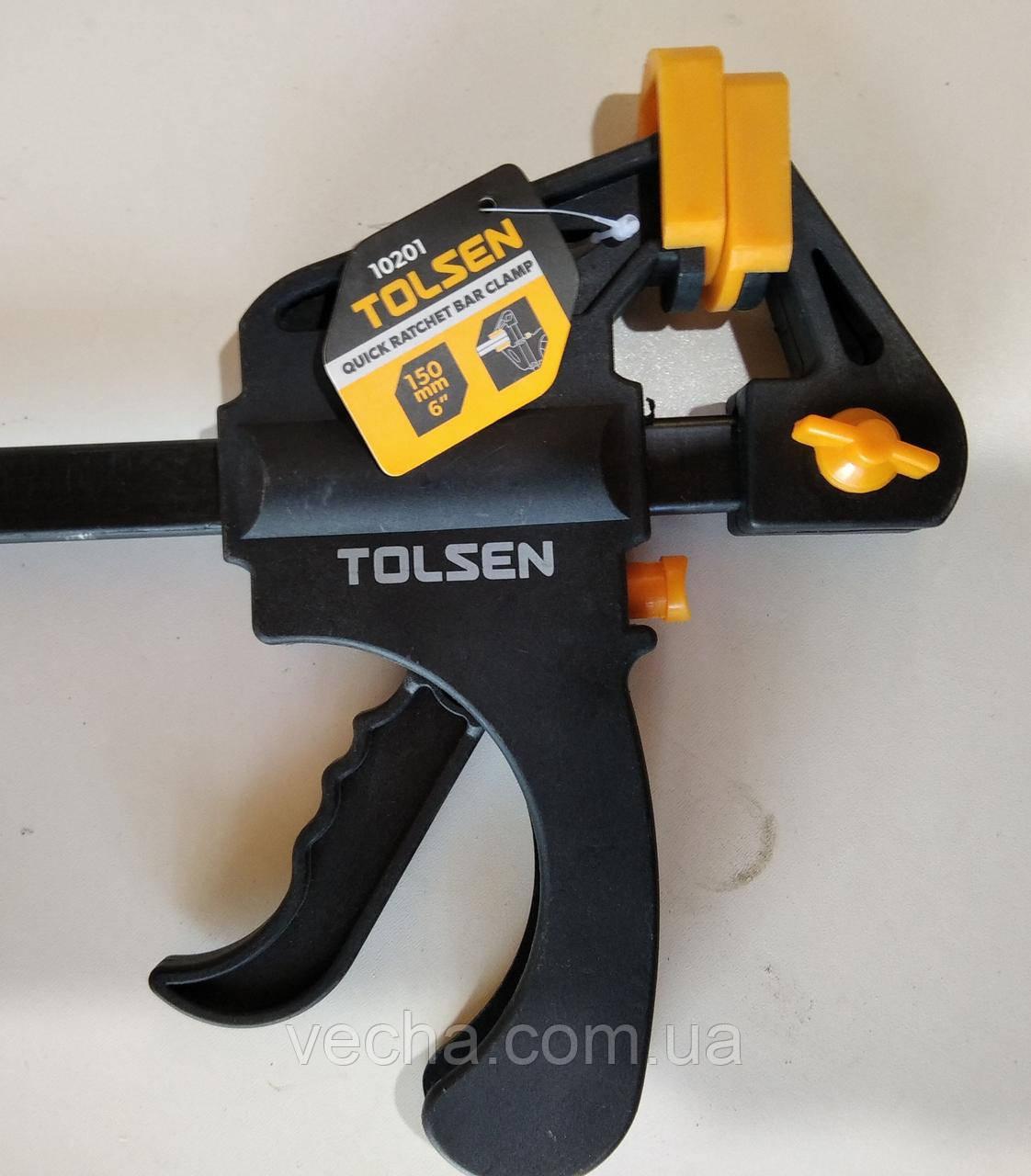 Струбцина Tolsen автоматическая 60x600 мм