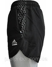 Мужские спортивные шорты Adidas из плащевки с подкладкой копия