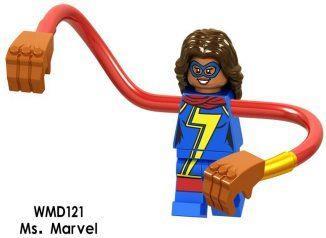 Міс Марвел Месники Супергерой Марвел Аналог лего