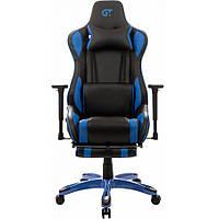 Геймерское кресло GT Racer X-0722 Black/Blue, фото 1