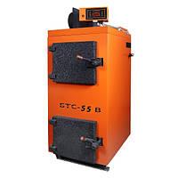Піролізний твердопаливний котел БТС 55 Воздухогрейный
