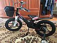 Дитячий Велосипед c полегшеної рамою HAMMER HUNTER-1850G Чорний з кошиком Магнієвий, фото 10