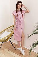 Женское платье с 42 по 46 рр лён