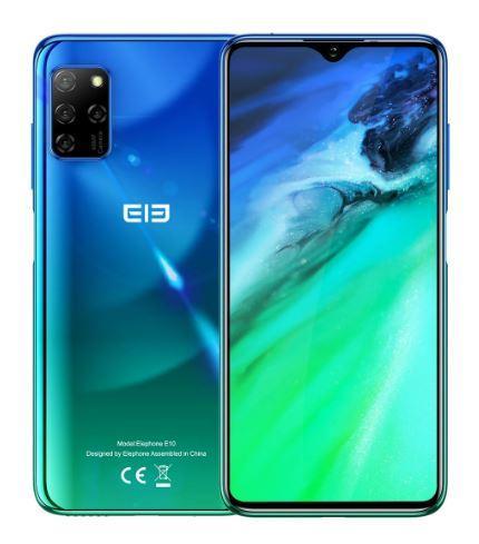 Смартфон ELEPHONE E10 NFC Aurora blue