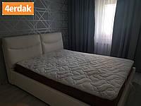 Кровать Двуспальная SMILE с мягким изголовьем и ортопедическим основанием