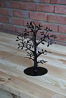 Дерево для украшений, бижутерии, цепочек, серьг, бус. Черного цвета., фото 1
