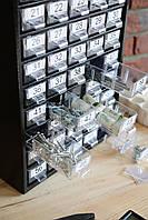 Органайзер - кассетница К60 для дома офиса гаража.  Для радиодеталей, мелочей, метизов, бисера, фото 1