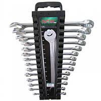 Набор рожково-накидных ключей TOPTUL 14 шт. 6-24мм GAAC1401