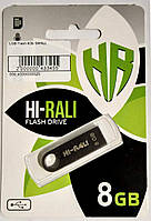 "USB Flash накопичувач(флешка) ""Hi-Rali"" 8Gb Black"