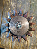Малая коническая шестерня с первичным валом почвофрезы Бомет, фото 3