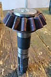 Малая коническая шестерня с первичным валом почвофрезы Бомет, фото 2