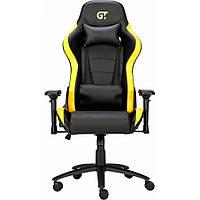 Геймерское кресло GT Racer X-2546MP Black/Yellow, фото 1