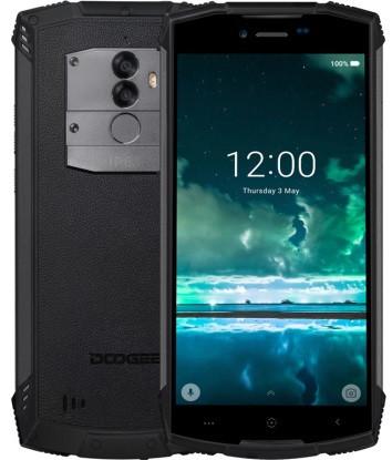 """Смартфон Doogee S55 IP68 4/64Gb Black, 13+8/5Мп, 5500 мАч, MT6750T, 2sim, 5.5"""" IPS, 8 ядер, 4G"""