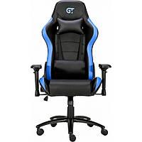 Геймерское кресло GT Racer X-2546MP Black/Blue, фото 1