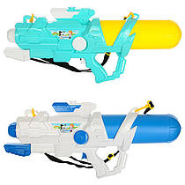 "Водяний пістолет-бластер великий 65 см ""Water Gun"" помпа, водне зброя дитяче, 5411"