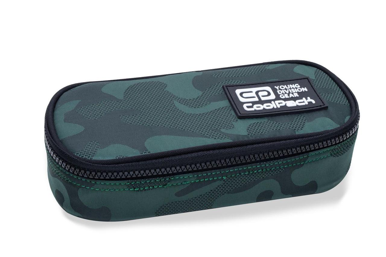 Пенал серии CAMPUS коллекции ARMY GREEN, CoolPack