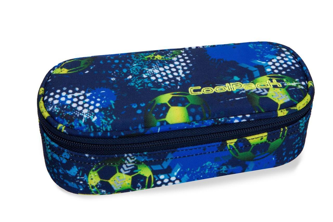 Пенал серии CAMPUS коллекции FOOTBALL BLUE, CoolPack