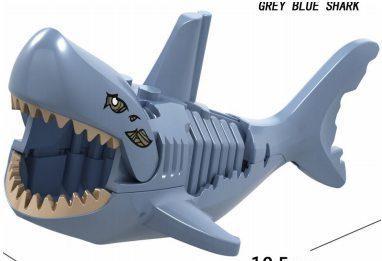 Минифигурка Акулы Shark Jurassic World Аналог лего
