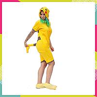 Пижама Кигуруми, летняя облегченная кигуруми для взрослых Пикачу хлопок
