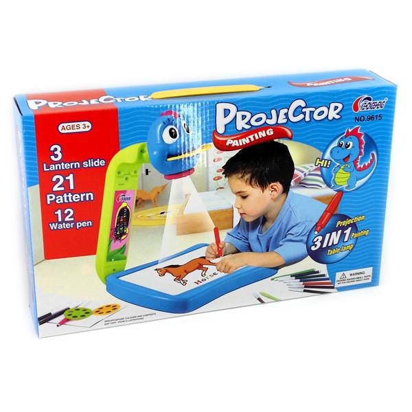 """Детский проектор для рисования """"Динозаврик"""""""