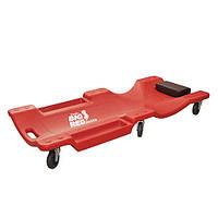 Лежак ремонтный на 6-ти колесах TORIN TRH6802-2