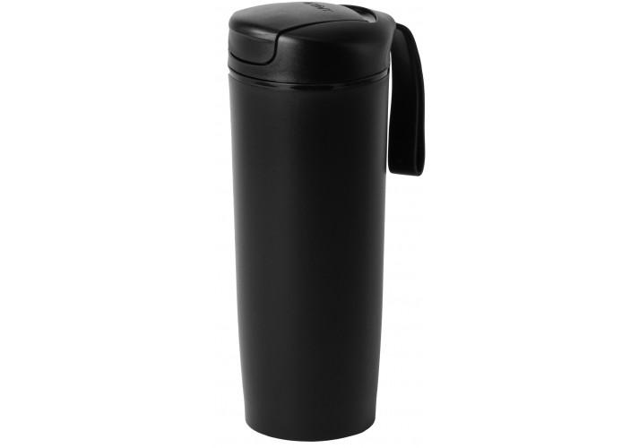 Термокружка пластикова з присоскою Optima PRIME 540 мл, чорна
