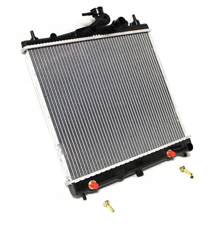 Радиатор охлаждения двигателя Nissan Micra K12, Nissan Note '03-10 (NRF)