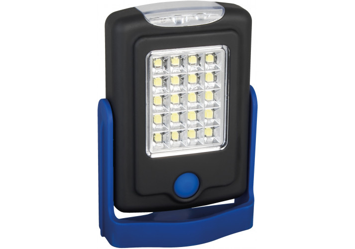 Ліхтар HELPER Optima PROMO, 20+3 LED, синій