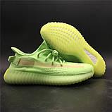 Кроссовки Adidas Yeezy Boost 350 V2 light green  (Адидас Изи Буст салатовые ) женские, фото 4