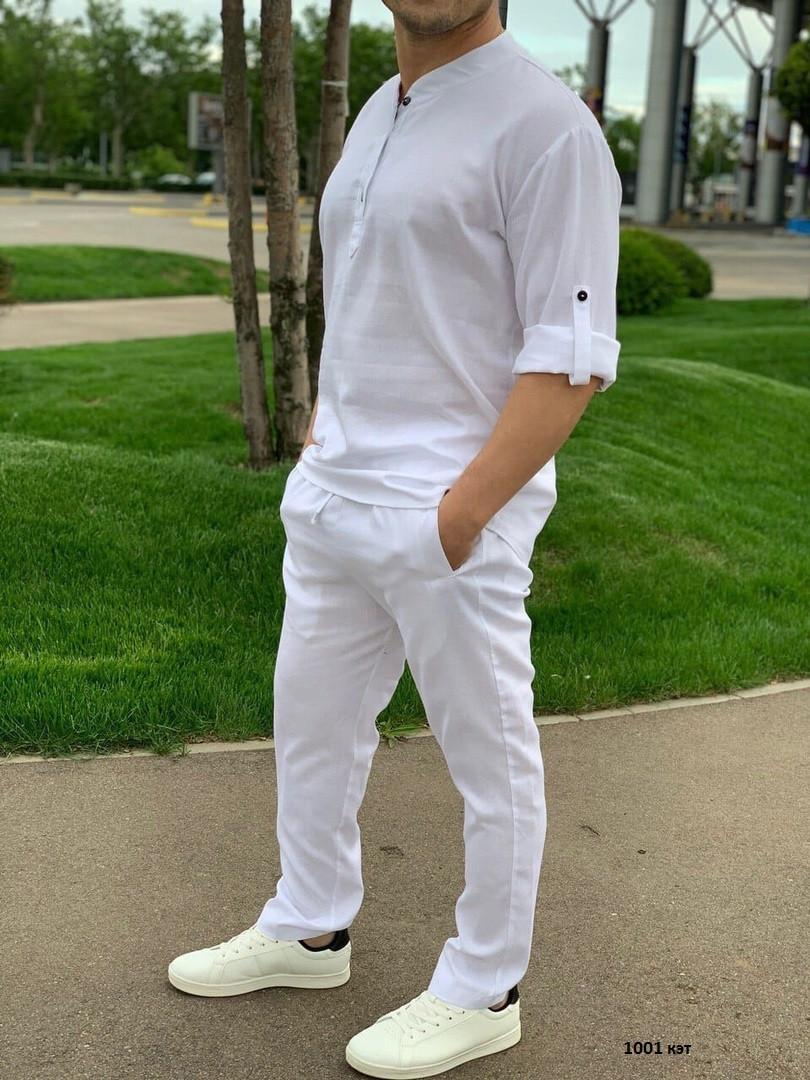 Мужской летний брючный костюм