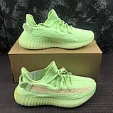 Кроссовки Adidas Yeezy Boost 350 V2 light green  (Адидас Изи Буст салатовые ) женские, фото 5