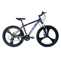 Горный велосипед «Рокет RS» (2020). Литые колеса на 26 дюймов. Алюминиевая рама 17 дюймов, фото 3