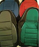 Чехлы сидений Ланос Заз Синие (горбы), фото 3