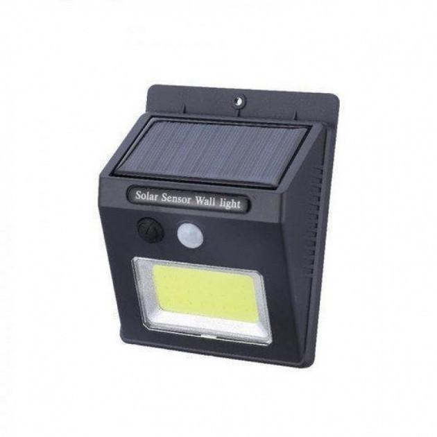 Фонарь светильник уличный настенный с датчиком движения и солнечной панелью SH-1605
