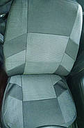 Авточехлы Skoda Fabia (5J) Hatch (раздельная) 2007 г серые, фото 2