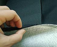 Авточехлы Skoda Fabia (5J) Hatch (раздельная) 2007 г серые, фото 4