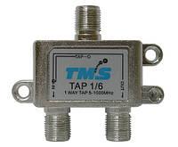 Ответвитель абонентский TAP 1/ 6 TMS (один выход -6дБ, проходной выход)