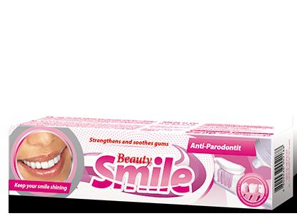 Зубная паста BEAUTY SMILE Болгария Анти-Пародонтит 100 мл
