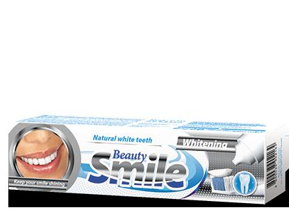 Зубная паста BEAUTY SMILE Болгария Отбеливающая 100 мл