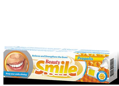 Зубная паста BEAUTY SMILE Болгария Прополис 100 мл