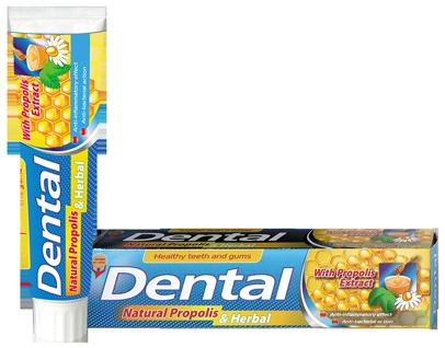 Зубна паста Dental Natural Propolis & Herbal, 100мл